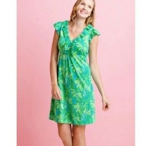 Lily Pulitzer Clare Seaweed Daisy Dress Size